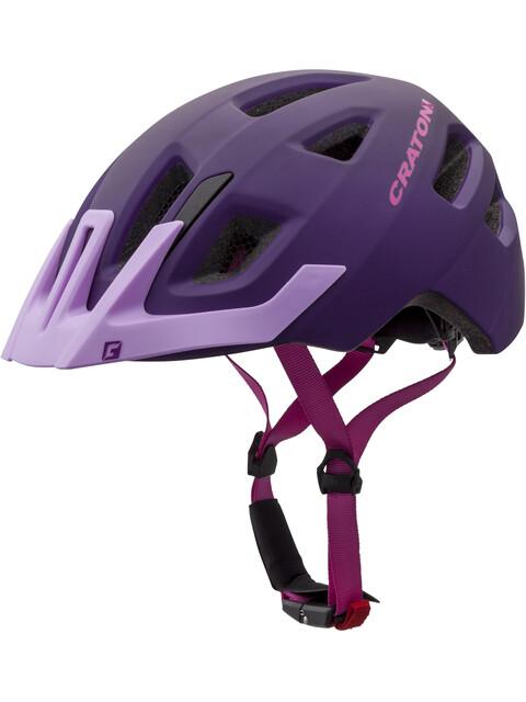 Cratoni Maxster Pro Helmet Kids purple-pink matt